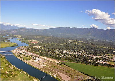 Bonners Ferry is another beautiful place to live in North Idaho with mountain views and glorious waterfront.