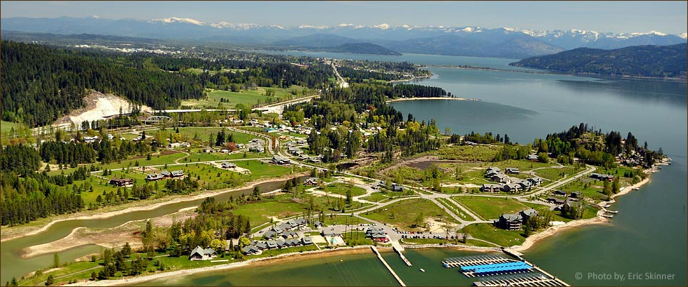 Dover, Idaho and Dover Bay Luxury Waterfront Homes and Land