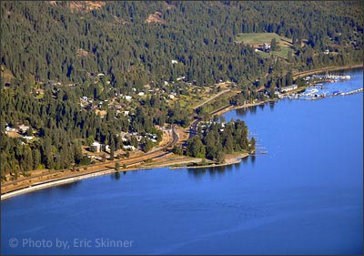 Hope is a luxury waterfront community with waterfront condos and private luxury homes on the shores of Lake Pend Oreille.