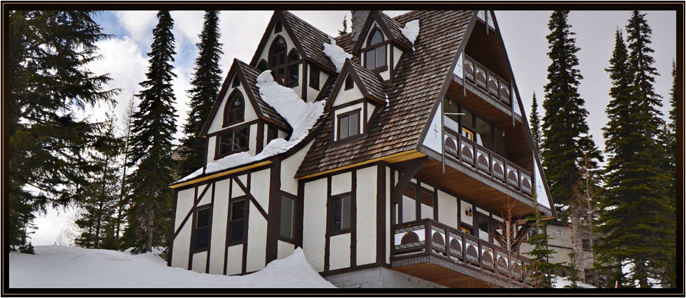 Old World architecture, unsurpassed craftsmanship Ski Home