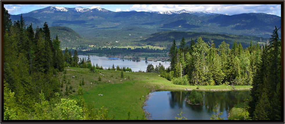 108 acres of pristine mountain and river view property in 5 separate 20 plus acre parcels, ready to build your home on immediately!