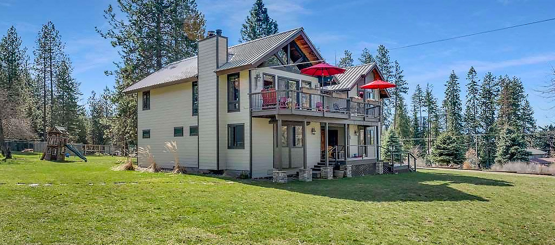 This home is the complete experience for the best of North Idaho living