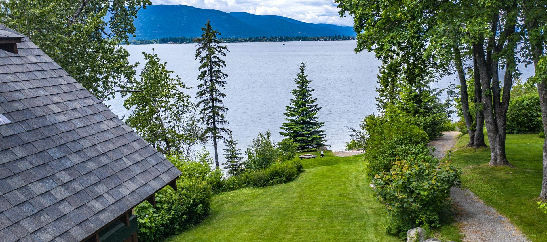Lot for sale at Sleeps Cabins on Lake Pend Oreille