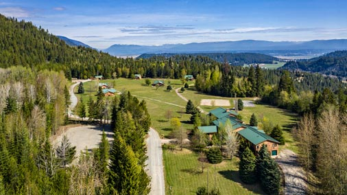211 acres and nearly 45 Buildings for sale in Naples, Idaho