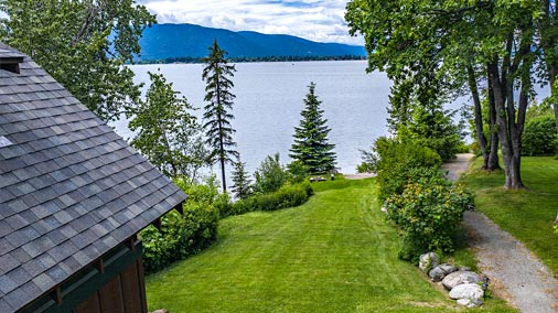 Lot for sale at Sleep's Cabins on Lake Pend Oreille