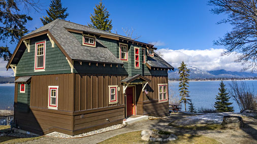 Lot and Home to be built at Sleeps Cabins on Lake Pend Oreille