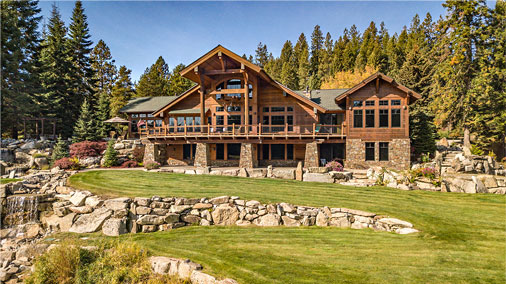 Priest River Waterfront Estate