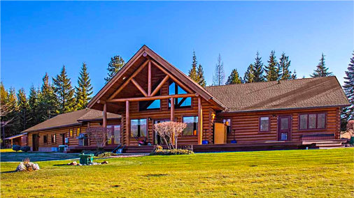 Log home in Meadows at Fall Creek